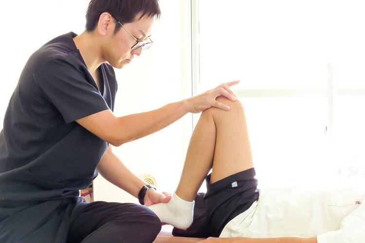 身体の深部にある筋肉のコリを緩める