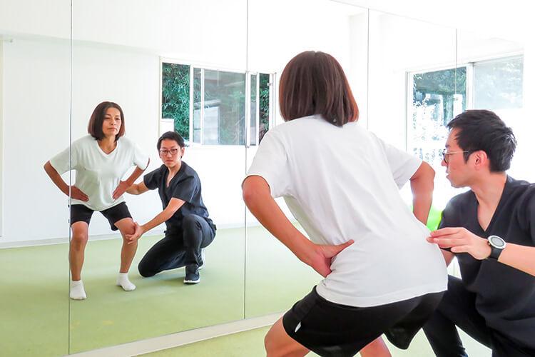 痛みが原因で筋力低下した筋肉を鍛える