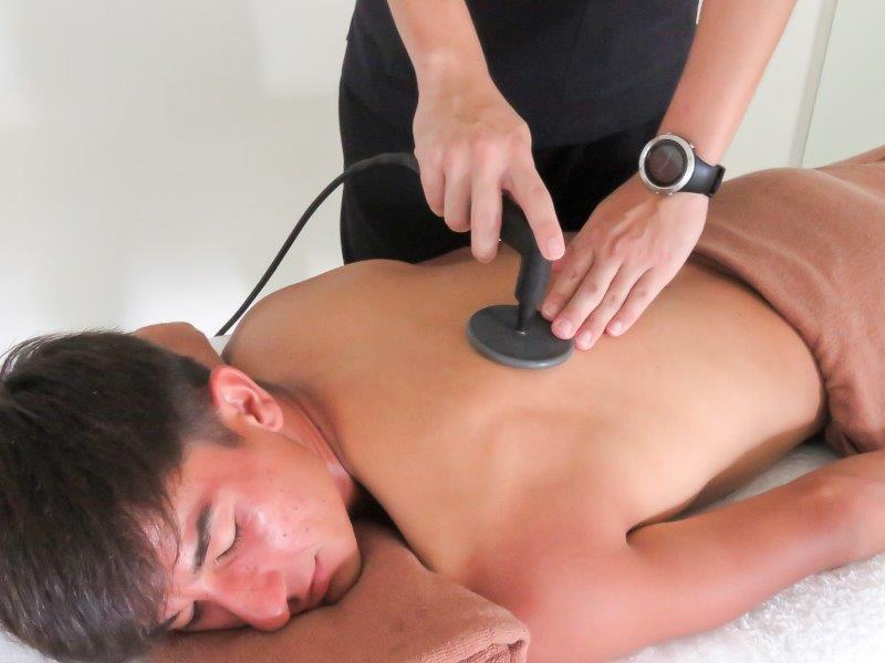 浜松たいかん鍼灸治療院インディバ施術写真