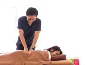 浜松たいかん鍼灸治療院施術写真