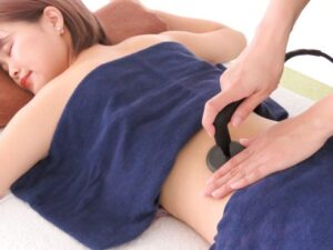 浜松 たいかん鍼灸治療院 インディバ施術風景
