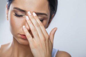 目の疲れ 美容鍼